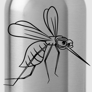 Mosquito sting comic witty T-Shirts - Water Bottle
