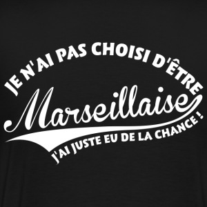 Marseillaise Chanceuse Sweat-shirts - T-shirt Premium Homme
