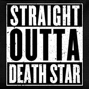 Straight Outta Death Star - T-shirt - Kids' Backpack