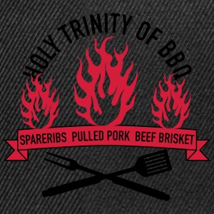 Holy Trinity of BBQ Tee shirts - Casquette snapback