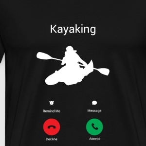 KAYAKING GETS! Hoodies & Sweatshirts - Men's Premium T-Shirt