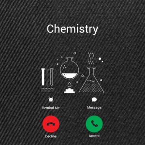 CHEMISTRY GETS – THE CHEMIST EXISTENCE IS CALLING ME! Bags & Backpacks - Snapback Cap