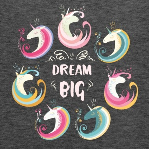 Dream Big Unicorns Bags & Backpacks - Women's Tank Top by Bella