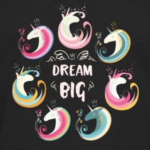 Dream Big Unicorns Bags & Backpacks - Men's Premium Longsleeve Shirt
