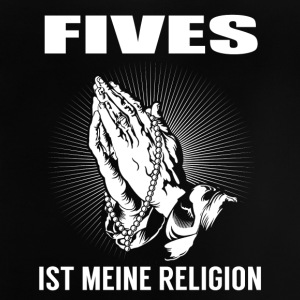 Fives - meine Religion Langarmshirts - Baby T-Shirt