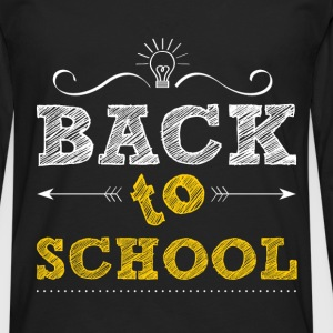 Back to school - Men's Premium Longsleeve Shirt