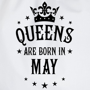Queens are born in May Crown Legends Queen T-Shirt - Turnbeutel