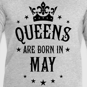 Queens are born in May Crown Legends Queen T-Shirt - Männer Sweatshirt von Stanley & Stella