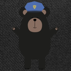 Glad Grizzly COP T-shirts - Snapbackkeps