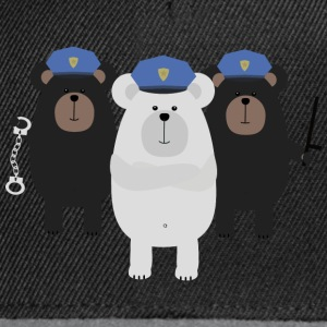 Grizzly COP trupp T-shirts - Snapbackkeps