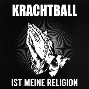 Krachtball - meine Religion Langarmshirts - Baby T-Shirt