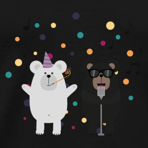 Vocals party bears Baby Long Sleeve Shirts - Men's Premium T-Shirt