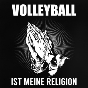 Volleyball - meine Religion Langarmshirts - Baby T-Shirt