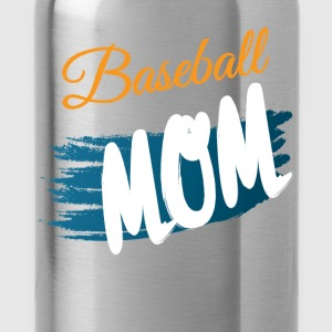 Baseball mom - Water Bottle