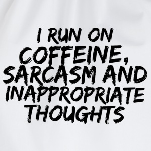 COFFEINE SARCASM Sweat-shirts - Sac de sport léger