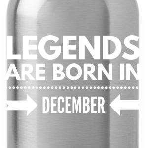 Legends December T-Shirts - Water Bottle