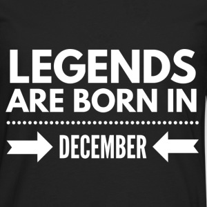 Legends December Tee shirts - T-shirt manches longues Premium Homme