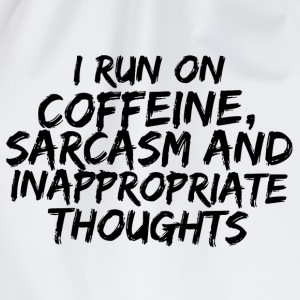 COFFEINE SARCASM T-Shirts - Drawstring Bag