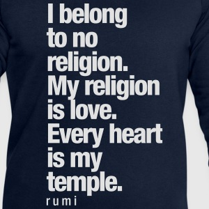My Religion is Love - Männer Sweatshirt von Stanley & Stella