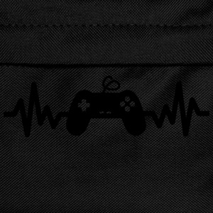 Gaming is life - geek gamer nerd game  - Kinder Rucksack