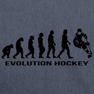 Evolution hockey ice hockey T-Shirts - Shoulder Bag made from recycled material