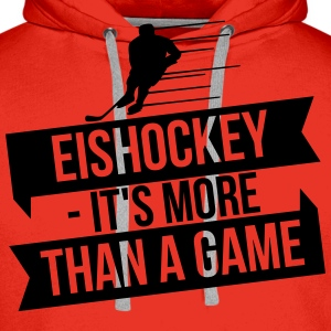 Eishockey - It's more than a game Långärmade T-shirts - Premiumluvtröja herr