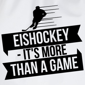 Eishockey - It's more than a game Langærmede t-shirts - Sportstaske