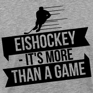 Eishockey - It's more than a game Manches longues - T-shirt Premium Homme