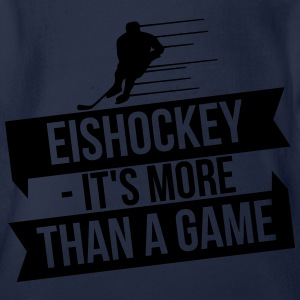Eishockey - It's more than a game Manches longues - Body bébé bio manches courtes