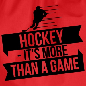 hockey - It's more than a game Langærmede T-shirts - Sportstaske
