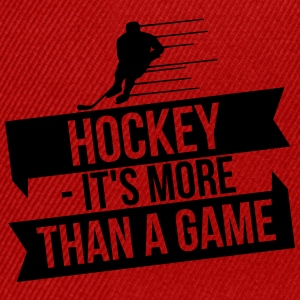 hockey - It's more than a game Langærmede T-shirts - Snapback Cap