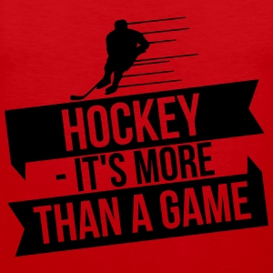 hockey - It's more than a game Maglie a manica lunga - Canotta premium da uomo