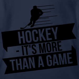 hockey - It's more than a game Manches longues - Body bébé bio manches courtes