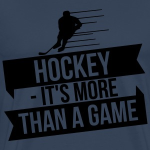 hockey - It's more than a game Manches longues - T-shirt Premium Homme