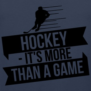 hockey - It's more than a game Manches longues - Débardeur Premium Homme