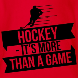 hockey - It's more than a game Shirts met lange mouwen - Baby bio-rompertje met korte mouwen