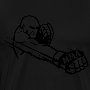 MMA Fighter 2 Long Sleeve Shirts - Men's Premium T-Shirt