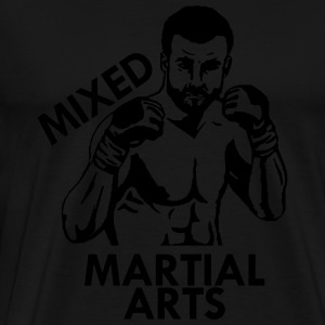 Mixed Martial Arts Long Sleeve Shirts - Men's Premium T-Shirt