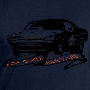 Challenger live to ride r Long sleeve shirts - Men's Sweatshirt by Stanley & Stella