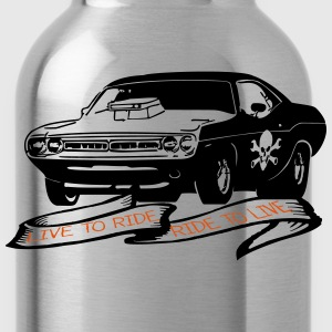 Challenger live to ride r Long sleeve shirts - Water Bottle