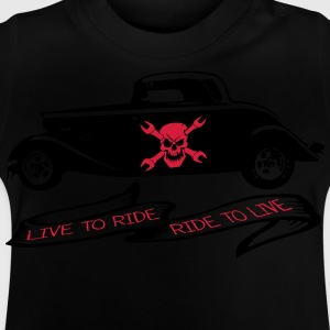 live to ride ride to live Langarmshirts - Baby T-Shirt