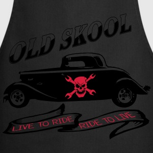 live to ride ride to live Shirts - Keukenschort