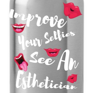 Improve your selfies see an esthetician - Water Bottle