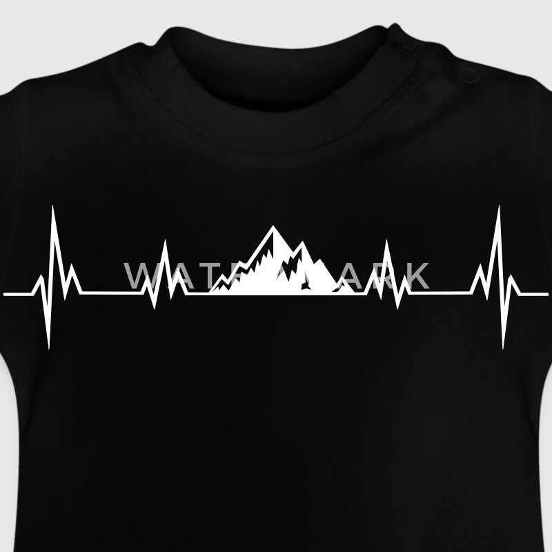 Heartbeat mountains Baby Shirts  - Baby T-Shirt