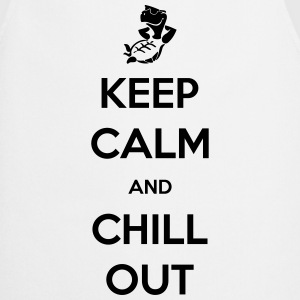 keep calm and chill out Tee shirts - Tablier de cuisine