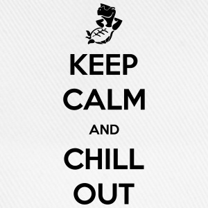 keep calm and chill out Tee shirts - Casquette classique