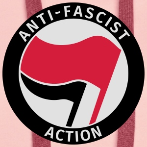 Anti-Fascist Action T-shirts - Premiumluvtröja dam