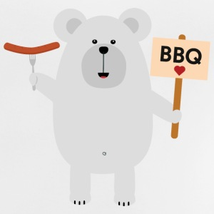 Ppolar BBQ bear with sausage Shirts - Baby T-Shirt