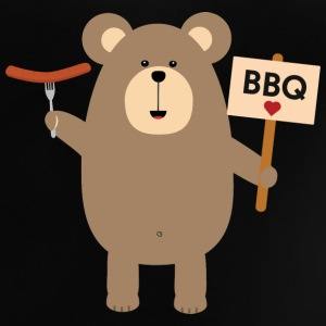 BBQ - brown bear with sausage Shirts - Baby T-Shirt