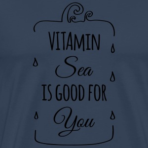 Vitamin-sea is good for you Welle Meer Strand  Sonstige - Männer Premium T-Shirt